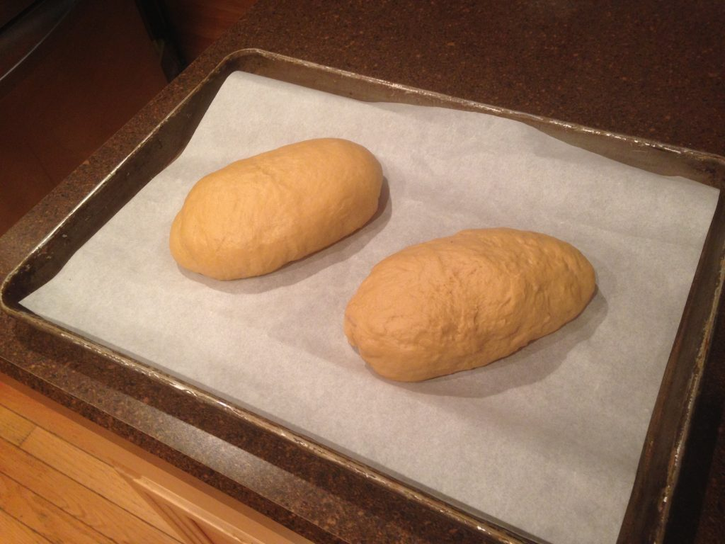 Shaped and ready for the second rise